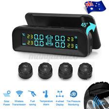 Car TPMS Solar Wireless Tyre Tire Pressure Monitor LCD Tester+4 Sensors й