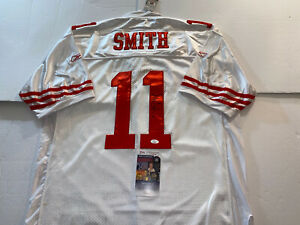 ALEX SMITH San Francisco 49ers AUTOGRAPHED JERSEY JSA COA