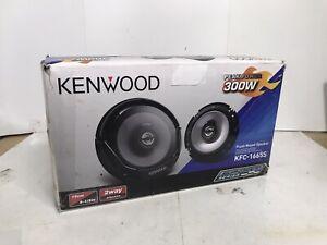 "Kenwood Kfc-1665r 6 1/2"" 2-way 300w Max Speakers car stereo vehicle KFC1665s NEW"