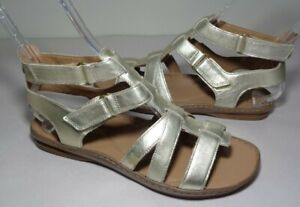 Clarks Size 9 M SARLA CHOIR Champagne Leather Sandals New Women's Shoes