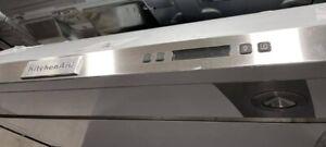 "KVUB606DSS 36"" KitchenAid 4-Speed Under-the-Cabinet Range Hood NEW"