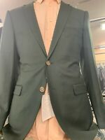 New 42L Men's SLIM Green Suit 100% Wool Super 150 Made in Italy Retail $1295