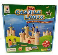 Castle Logix Castle Building Logic  Educational 3D Puzzle Game Wooden Learning