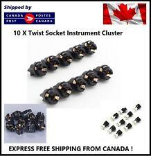 10x T5 Twist Socket PC74 Instrument Panel Cluster Replacement Socket Lamp Holder