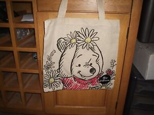 Disney   Tote Bag Canvas -  Winnie the Pooh in the garden