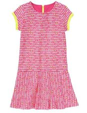 NWT GYMBOREE BTS Bright Ideas Pink Diamond Print Ponte Dress Girl Size 12