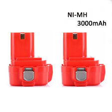2pcs 9.6V 3000mAh 3.0AH Battery for FOR MAKITA 9.6 Volt Cordless Drill