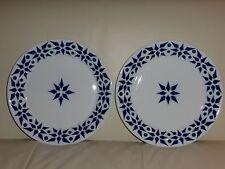 Vintage Sargadelos Spain Porcelain Geometric Design Dinner Plates