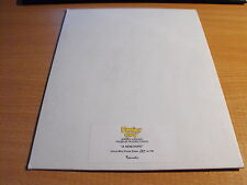 FAMILY GUY EPISODE IV A NEW HOPE UNCUT SHEET OF A NEW HOPE 160/199
