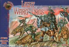 DARK ALLIANCE #72009 - LIGHT WARG ORCS . 1/72 SCALE UNPAINTED PLASTIC FANTASY