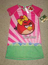 NWT Angry Birds Nightgown Pajamas Size 10/12 + Free Key Chain $32 RV