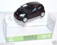 STOP MICRO NOREV HO 1/87 CITROEN C1 NOIRE IN BOX NEUF