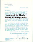 FRANKLIN D. ROOSEVELT- LETTER-SIGNED-1937-PEACE AT HOME-WAR ON THE HORIZON