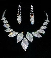 BRIDAL/WEDDING  Crystal/Diamonte Necklace Set **142** ABSOLUTELY BEAUTIFUL