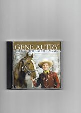 Gene Autry CD Back In The Saddle Again