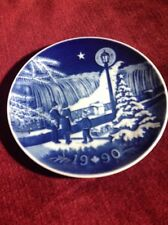 Christmas in Canada 1990 Collector Plate