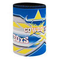 NRL Stubby Can Cooler - North Queensland Cowboys - Drink - Rubber Base Neoprene