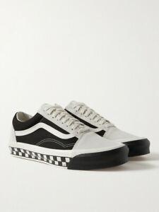 Vans UA OG Old Skool LX Bumper Cars Leather Trimmed Sneakers Size UK 6 EU 39