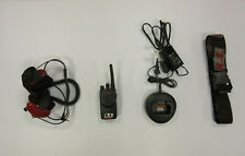 Motorola Mag One Bpr40 8 Channel Two Way Radio with Headset and Charger