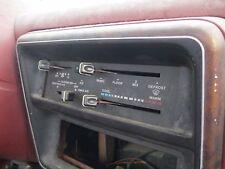 FORD F350 1987 TEMPERATURE CONTROL
