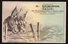 TOLEDO OHIO*DEMINGS*TAILOR*WASHINGTON ST*THE TWO ORPHANS*DONKEYS*CHICAGO PIC CO