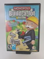 Monopoly Build-a-lot Edition Hasbro Windows CD-ROM by Game House Rare