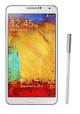 Samsung Galaxy Note 3 White SM-N900 N9000, FACTORY UNLOCKED 32GB - USED
