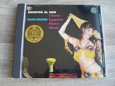 egypt CD jazz EGYPTIAN belly dance *EX+* MOKHTAR AL SAID Raks Sharki MIDDLE EAST