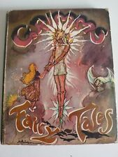 GRIMMS' FAIRY TALES - ILLUS ANNE ANDERSON, AH WATSON (COVER) - c1940s DECO