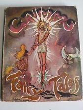 GRIMMS' FAIRY TALES - ILLUS ANNE ANDERSON, AH WATSON (COVER) - c1940s DECO