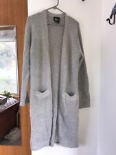 All About Eve womens grey cardigan size 8