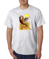 Gildan Short Sleeve T-shirt Pheasant Pheasants Bird Birds Animals Hunting