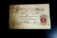 France Stamps 1888 ½ P Wrapper Exhibition Laureats of France VF