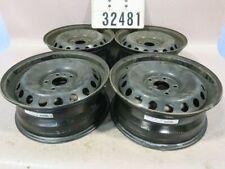 4 Stahlfelgen Nissan Qashqai 6,5jx16CH ET40 LK 5x114,3mm ML 66,1mm #32481