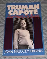 Truman Capote-  Dear Heart, Old Buddy by John Malcolm Brinnin- Biography 1986