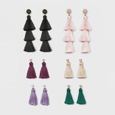 BaubleBar Sugarfix Mix and Match Tassel Earring Gift Set - Multi-colored