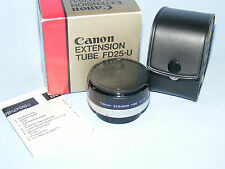Canon FD25-U Extension Tube for Canon 35mm SLR Camera, FD Bayonet Mount, Boxed