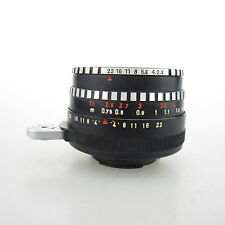 Sonderpreis*** Für Exa Meyer Zebra Domiplan 2.8/50 Objektiv / lens