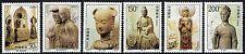 PRChina1997-9 Mi.#2806-11** Höhentempeln-Skulpturen,Maihishan /complete Set-MNH