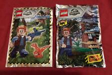 Lego Special Jurassic World Mini Foil Coll x 2