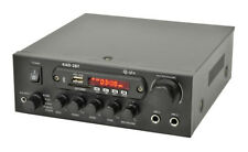 Qtx 103.122 Kad-2Bt 3.5mm Stereo Line Digital Stereo Amplifier with Bluetooth
