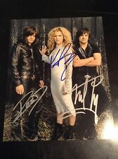 THE BAND PERRY music autographed 8x10 Coa100%authentic CLEARANCE