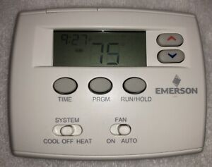 Emerson White-Rodgers Blue Single 1F80-0261 Programmable Thermostat w/ Screws