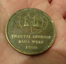 1960 TRUSTEE SAVINGS BANK COIN - DR HENRY DUNCAN.