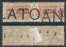 1923 SOMALIA PACCHI POSTALI 50 B DEMONETIZZATO MH * - D5-2
