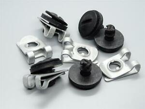 5 Motorschutz Stoßtange Halteklammer Schrauben Clips für Audi A4 A6 Seat Exeo ST