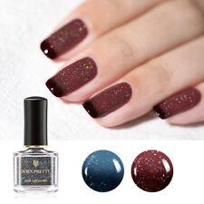 BORN PRETTY 6ml Holographic Thermal Top Coat Nail Polish Color Changing Varnish