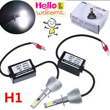 2x High Power H1 LED Headlight Bulb Conversion Single Beam Car Light 6000K White
