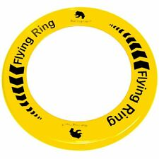 Yellow Flying Ring - Fun Outdoor Summer Toy - Disc Frisbee Type Beach Garden Toy