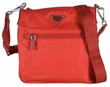 Prada Tessuto Nylon Sport Red Messenger Cross Body Bag 7210000074161BH716